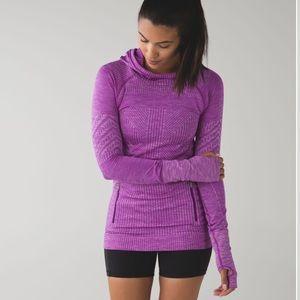 Lululemon Rest Less Hoodie Pullover Violet Purple